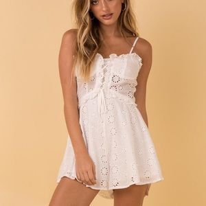 The Rule Playsuit- Princess Polly